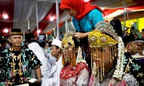 Indonesia tăng tuổi kết hôn tối thiểu để triệt đường tảo hôn