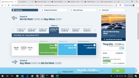 Thứ Tư hàng tuần, Bamboo Airways mở vé bán chỉ từ 99.000 đồng