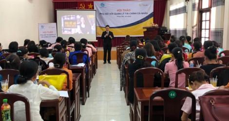 """Sun Life Việt Nam truyền thông chương trình: """"Phụ nữ với quản lý tài chính cá nhân"""""""