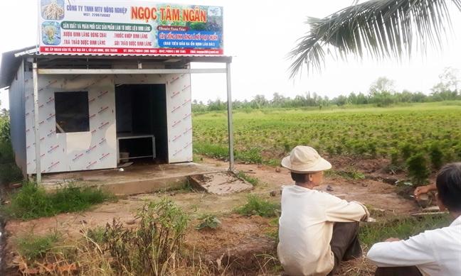 Nong dan lao dao voi du an thue dat trong duoc lieu