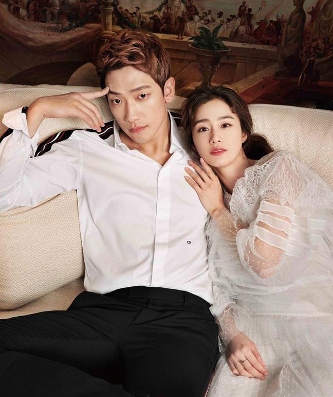 Bi Rain mung Kim Tae Hee ha sinh con gai thu 2