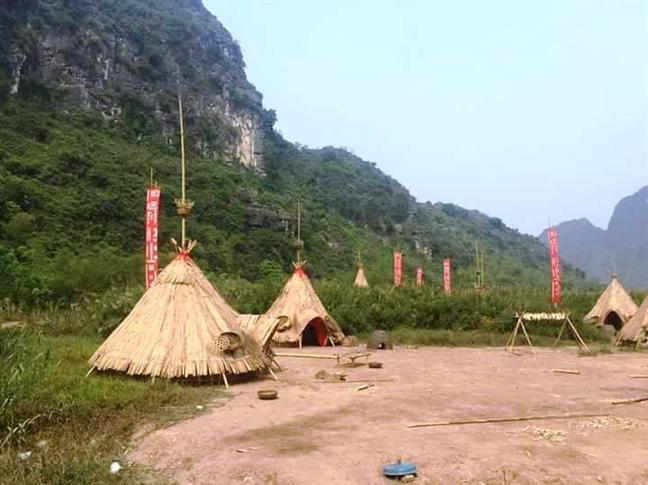 Ninh Binh thao do phim truong 'Kong: Skull Island'