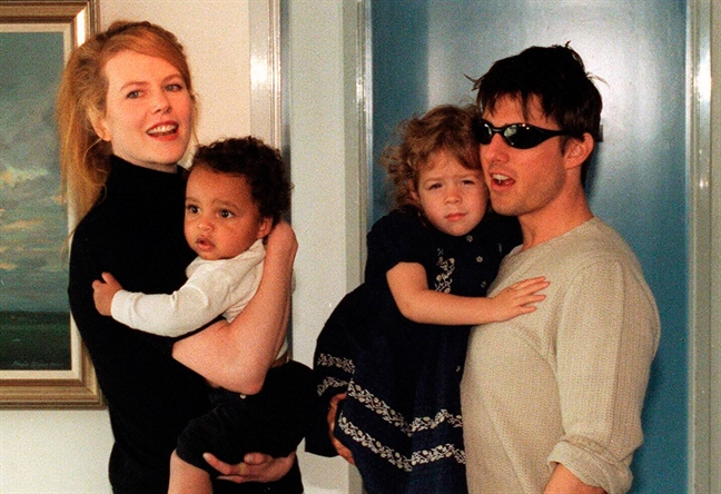 Nicole Kidman no luc han gan voi con