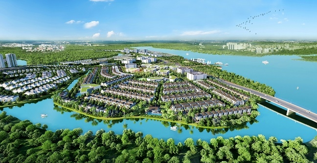 The Grand Villas - Dau an phong cach Ha Lan tuyet dep tai Aqua City