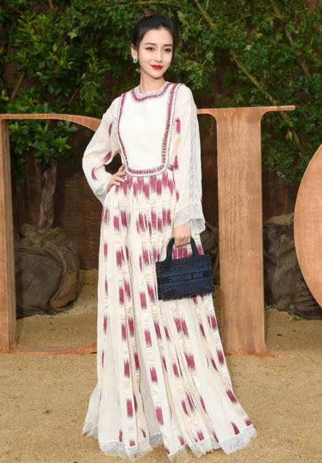 Angelababy, Suzy lộng lẫy tại Paris Fashion Week