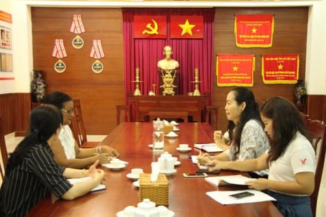 Hội LHPN TP.HCM tiếp Tổng Lãnh sự quán Cuba