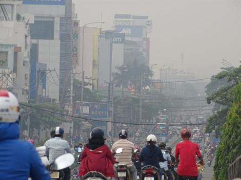 Sương mù ở TP.HCM không phải do ảnh hưởng cháy rừng ở Indonesia