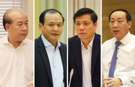Thủ tướng kỷ luật 3 thứ trưởng, 1 cựu thứ trưởng Bộ Giao thông Vận tải