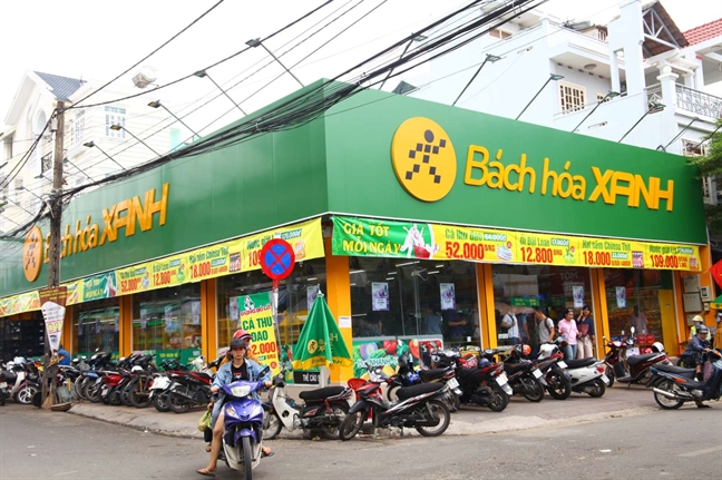 Choang voi cua hang Bach Hoa Xanh Binh Phuoc, doanh thu 1 ngay bang ca thang sieu thi 'nha nguoi ta'