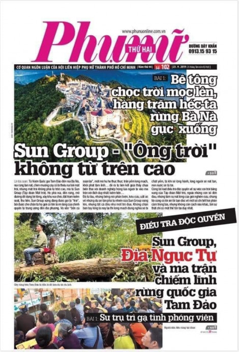 Vì sao dư luận dậy sóng khi Báo Phụ Nữ TP.HCM 'đụng đến Sun'?