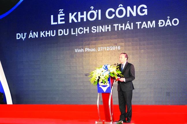 Giao rung dac dung Tam Dao cho doanh nghiep la dieu qua bat thuong