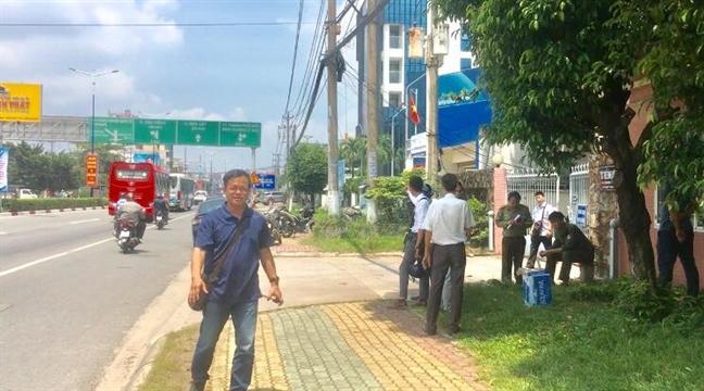 No lon tai Cuc thue Binh Duong
