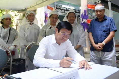 Nguyên lãnh đạo Nhà nước, lãnh đạo Thành ủy TP.HCM viếng ông Nguyễn Hữu Hạnh