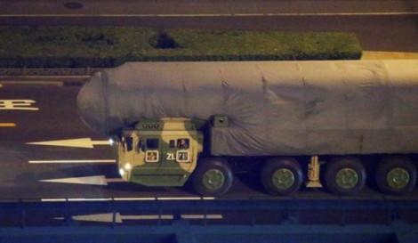 Trung Quốc khoe tên lửa hạt nhân đạn đạo mới tại duyệt binh Quốc khánh