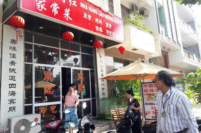 Da Nang: Xu ly hang chuc nha hang, khach san vi pham o 'pho Tau'