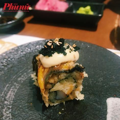 Độc đáo món sushi kết hợp cùng sầu riêng ở Sài Gòn, bạn đã thử chưa?