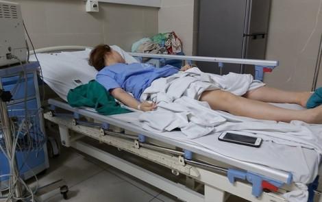 Nâng ngực bằng mỡ tự thân, bệnh nhân ngất xỉu, co giật 3 lần mới được đưa đi cấp cứu