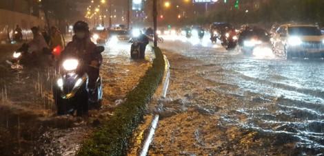 Chi gần 500 tỉ đồng để chống ngập cho đường Nguyễn Hữu Cảnh