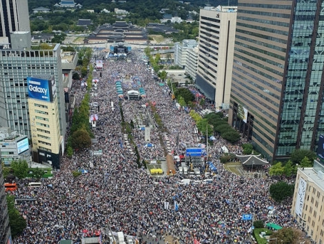 3 triệu người dân Hàn Quốc biểu tình yêu cầu Bộ trưởng Tư pháp từ chức