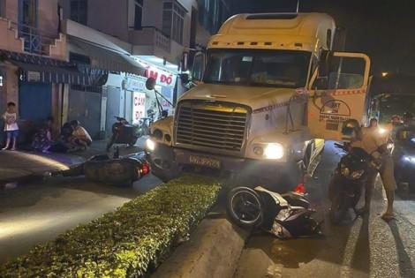 Bắt tài xế container sử dụng ma túy, tông 2 người thương vong