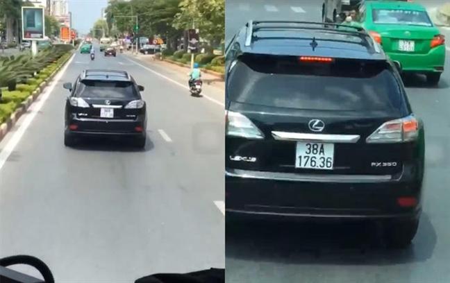 Chu xe Lexus ca dem mat ngu vi lo 'chan' xe cuu hoa dang lam nhiem vu
