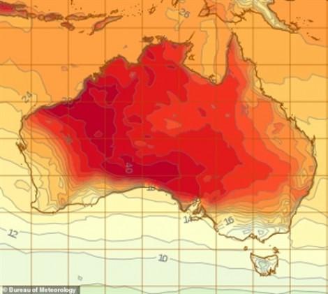 Úc đón đợt nóng lên đến 40 độ C ngay giữa mùa xuân