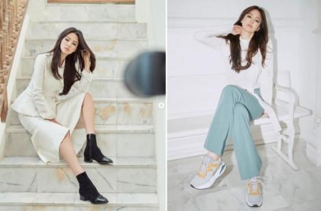 Song Hye Kyo trở lại ấn tượng với vẻ đẹp quyến rũ