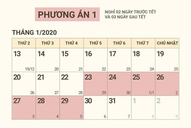 Chinh phu thong qua lich nghi Tet am lich Canh Ty 2020