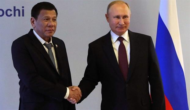 Philippines tinh den quan he Nga-Trung khi ban thoa thuan tham do Bien Dong voi Nga