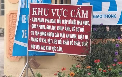 Nhiều trụ sở UBND xã ở Nghệ An đặt biển cấm quay phim, chụp ảnh