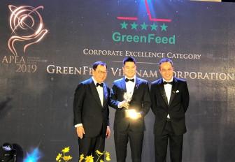 GreenFeed Việt Nam nhận giải thưởng Doanh nghiệp châu Á – Thái Bình Dương 2019