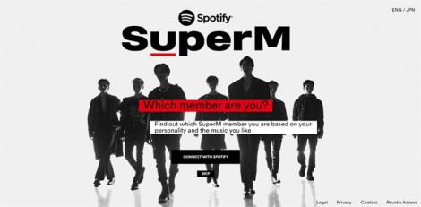 Bạn là ai trong SuperM? Khám phá ngay cùng Spotify