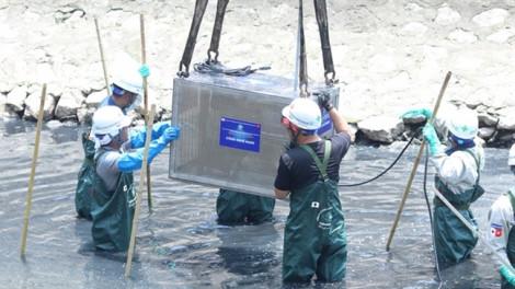 Thủ tướng giao Hà Nội đánh giá kết quả thí điểm làm sạch sông Tô Lịch
