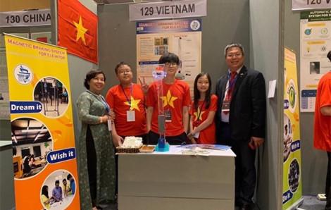Việt Nam mang 3 sáng chế dự giải quốc tế, đoạt 2 huy chương vàng