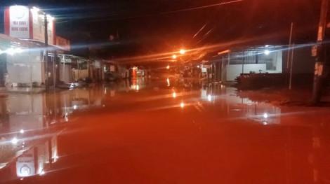 Clip: Huyện vùng cao Bù Đăng ngập nặng do mưa lớn
