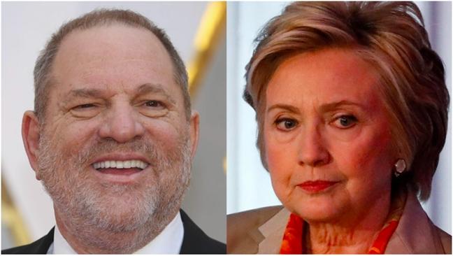 Ba Hillary Clinton bi cao buoc tung bao ve 'yeu rau xanh' Harvey Weinstein
