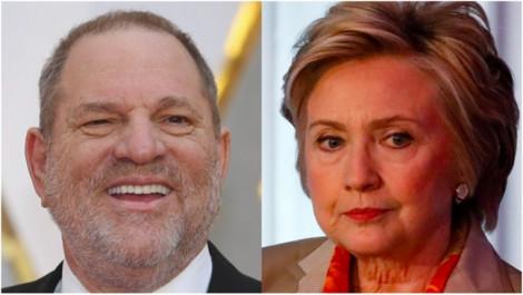 Bà Hillary Clinton bị cáo buộc từng bảo vệ 'yêu râu xanh' Harvey Weinstein