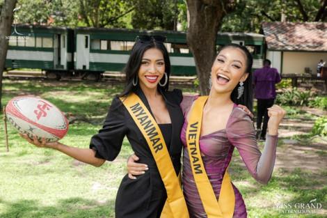 Á hậu Kiều Loan lọt top bình chọn Miss Grand 2019