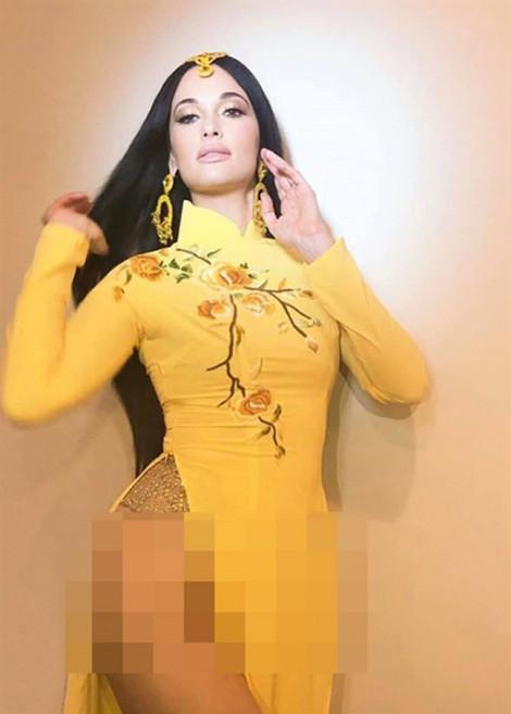 Bị chỉ trích mặc áo dài phản cảm, Ngô Thanh Vân đáp trả