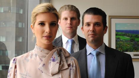 Chức tổng thống của ông Trump mang lại 'lộc lớn' cho con cái!