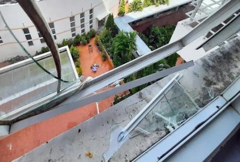 Sau tai nạn giao thông, bệnh nhân nhảy lầu tự tử từ tầng 6 của bệnh viện
