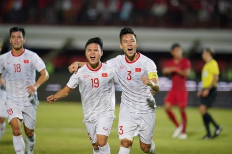 Tuyển Việt Nam giành chiến thắng 3-1 trước Indonesia