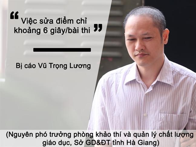 Soc truoc nhung phat ngon cua cac quan chuc trong vu gian lan thi cu Ha Giang, Son La