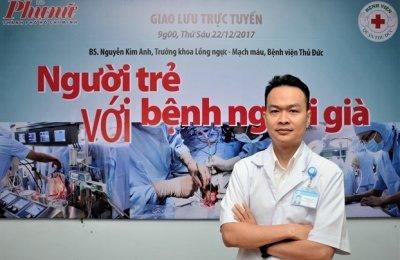 Giao lưu trực tuyến: Người trẻ với bệnh người già