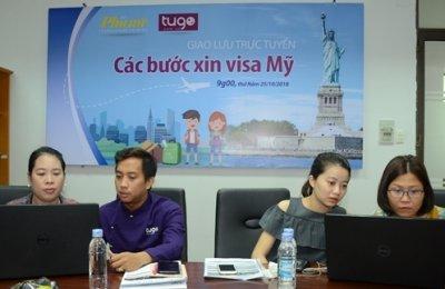 Giao lưu trực tuyến 'Các bước xin visa Mỹ'