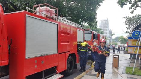 Huy động trực thăng, xe triệu đô diễn tập chữa cháy