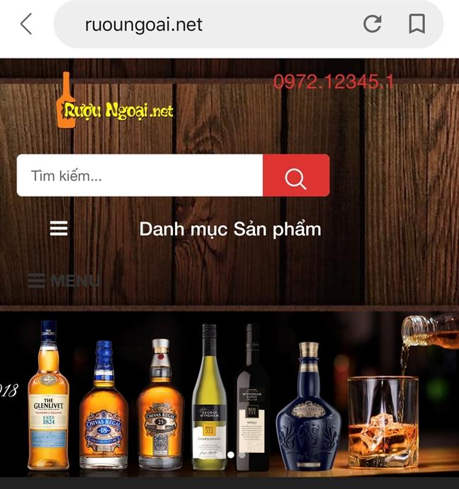 3 website bi phat hien ban toan my pham, thuc pham... lau