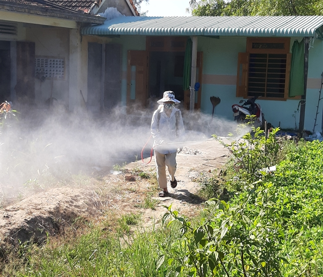 Quang Nam: Gan 5.000 ca sot xuat huyet tinh tu dau nam