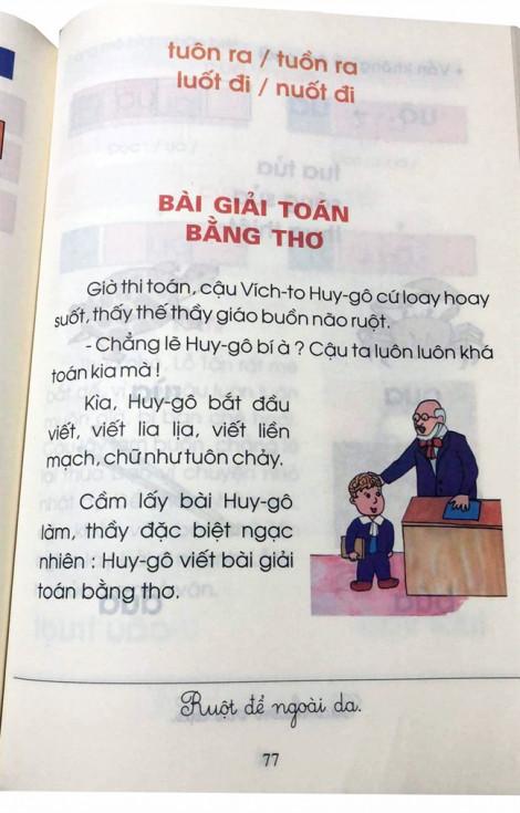 Bật ngửa với cách phiên âm 'thuần Việt' trong sách giáo khoa