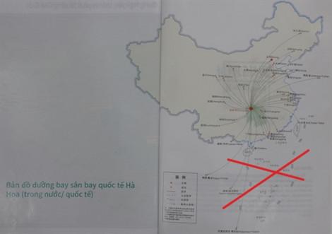 Saigontourist thừa nhận để lọt ấn phẩm du lịch có 'đường lưỡi bò'